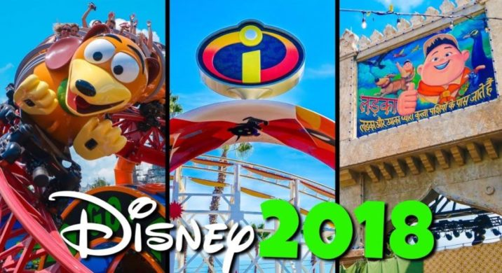 Disney World Rides And Attractions